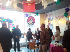 Tasti D-Lite Ribbon Cutting 04-12-13
