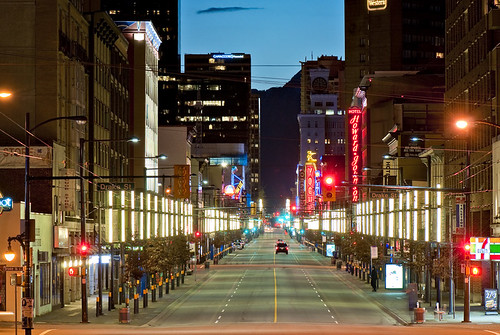 Granville street by petetaylor