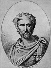 Pline L'Ancien, Portrait imaginaire, D'après une Encyclopédie du XIX°, Bibliothèque du Congrès, Washington