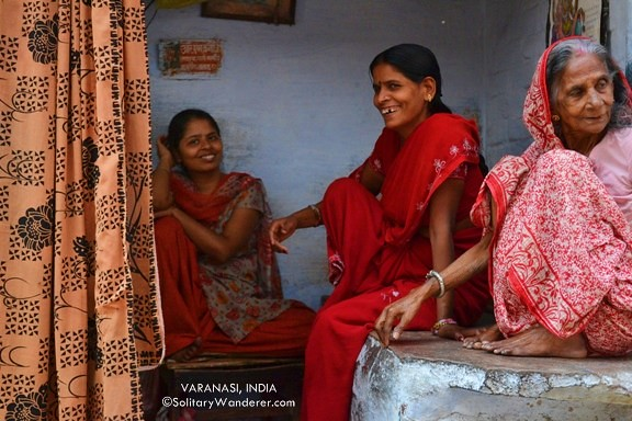 women in Varanasi