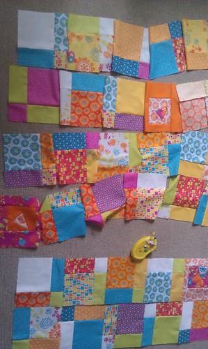 Snap Pop baby quilt