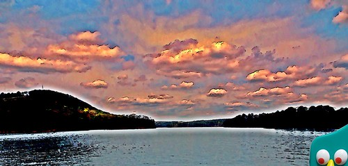 blue lake nature water clouds landscape scenic gumby lakeallatoona