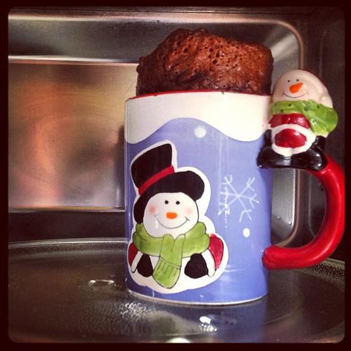 G teau au chocolat au micro ondes dans un mug cuisine de m m moniqcuisine de m m moniq - Gateau dans un mug ...