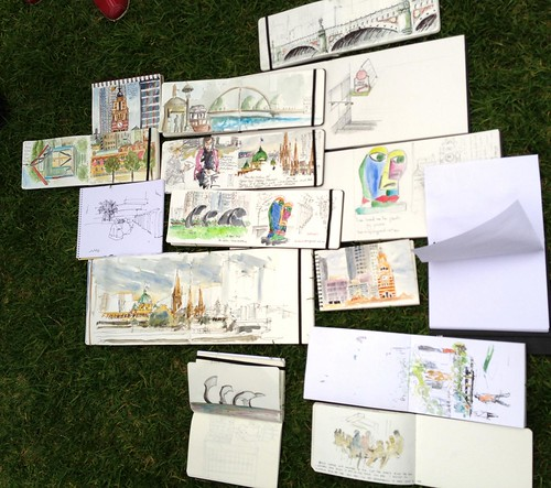 39 Sketchcrawl in Melbourne