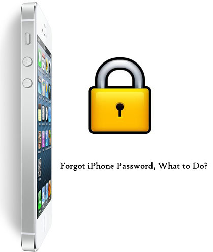 forgot iPhone password