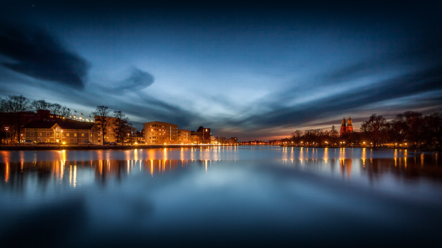 Blue Hour @ Eskilstuna Sweden