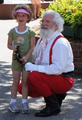 Santa in 2008