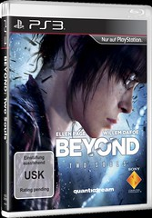Packshot PS3 BEYOND Two Souls USK