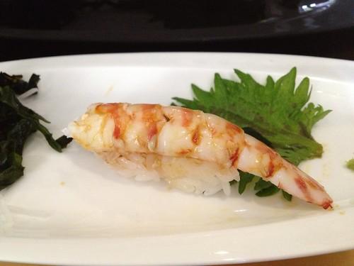 明蝦握壽司