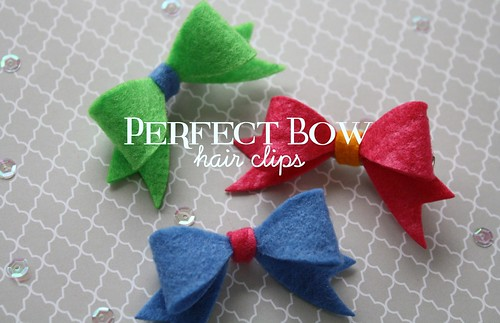 perfect bow hair clips