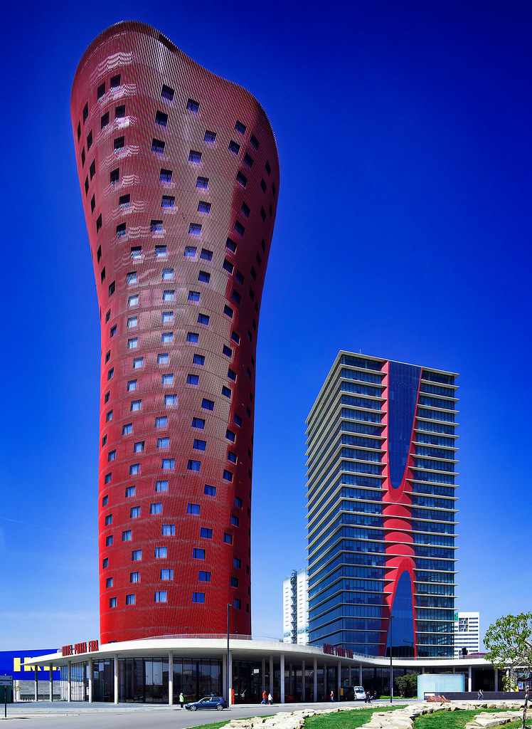 Porta Fira Towers | Barcelona, Spain | Toyo Ito