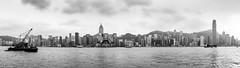 """城市山水 Urban Landscape"" / 香港維多利亞港全景 Hong Kong Victoria Harbour Panorama / SML.20130412.6D.00198-SML.20130412.6D.00210-Pano.Cylindrical.136x60"