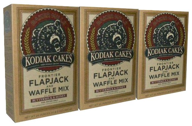 Kodiak Cakes Product Packaging