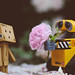 """From me to you"",said Wall-E. by *Zoha.Nve"