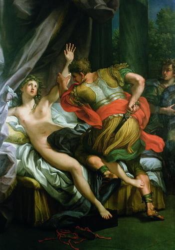 Giulio Cesare Procaccini - 'Rape of Lucretia'