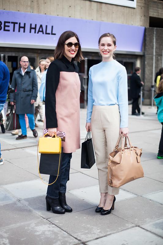Street Style - Emilia Wickstead, Vogue Festival
