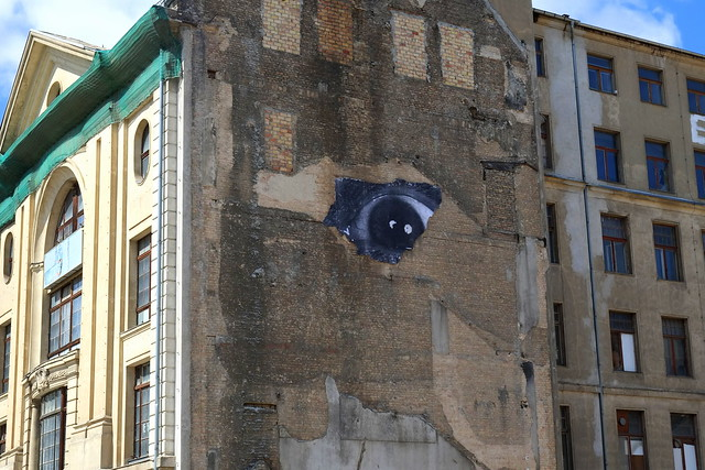 streetart | jr - the wrinkels of the city | berlin