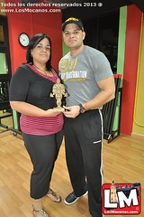 Premiación Body Transformation en GOLDS GYM