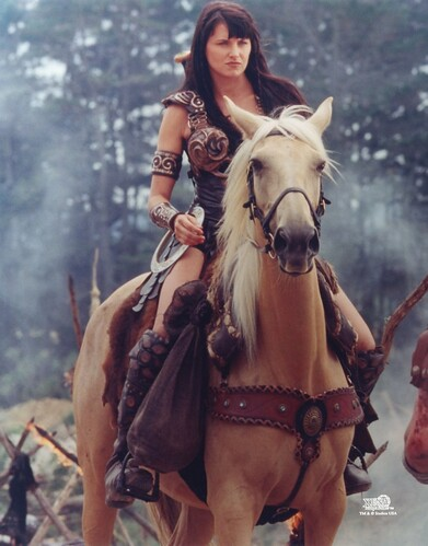 xena and her horse argo