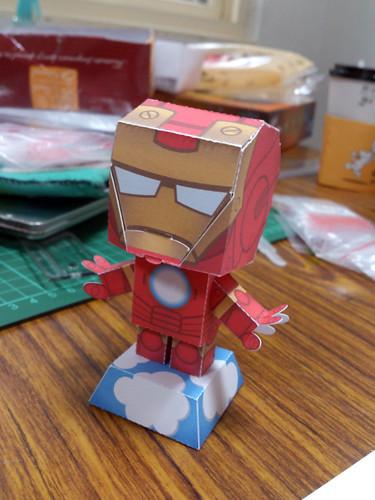 鋼鐵人紙模型