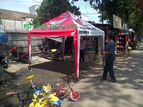 Tenda Promosi full banner