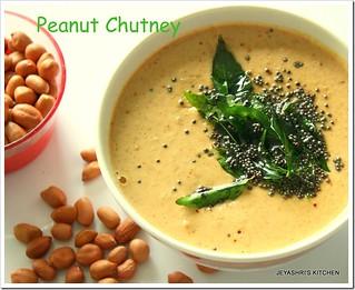 peanut chutney