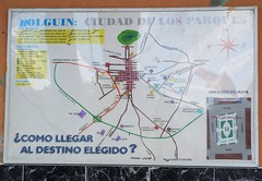 Holguin Street Map