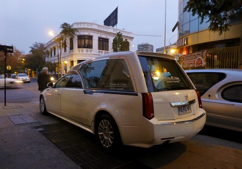 Cadillac CTS Hearse - Santiago, Chile