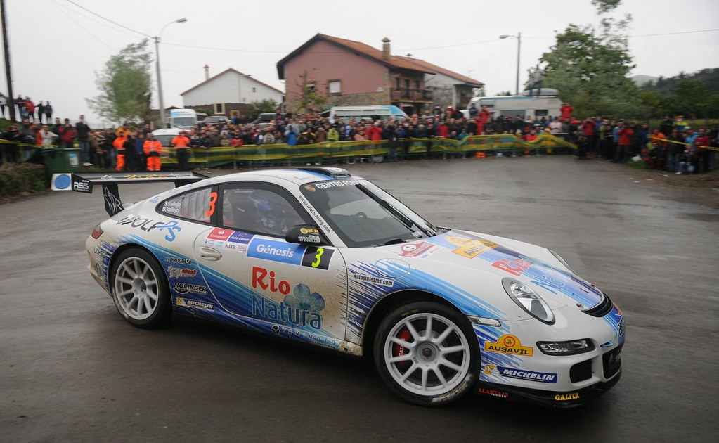 El Porsche De Los Vallejo Correr El Cera 2014 Lo