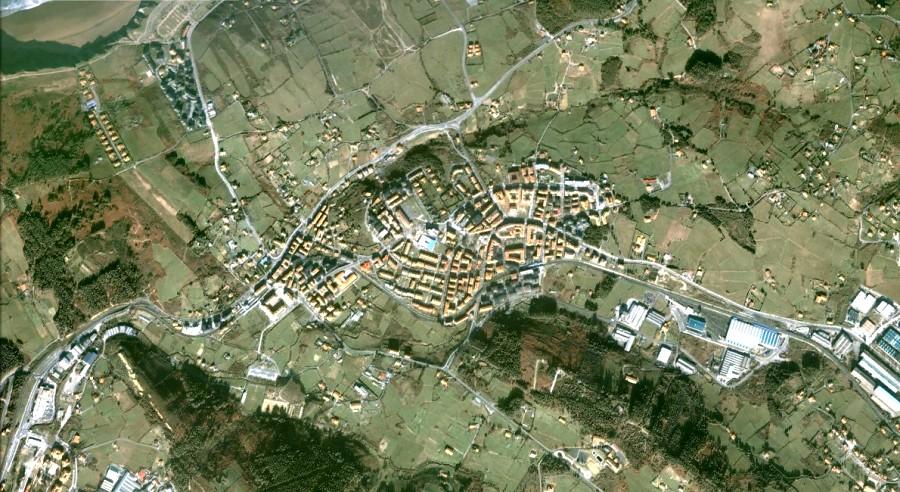 Morega, Bizkaia, Vizcaya, Euskadi, País Vasco, antes, urbanismo, planeamiento, urbano, desastre, urbanístico, construcción