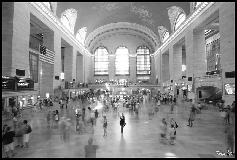 Viendo el tiempo pasar... Central Station- NY