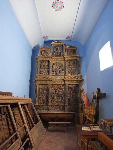 Iglesia de la Asunción de Nuestra Señora - Retablo lateral