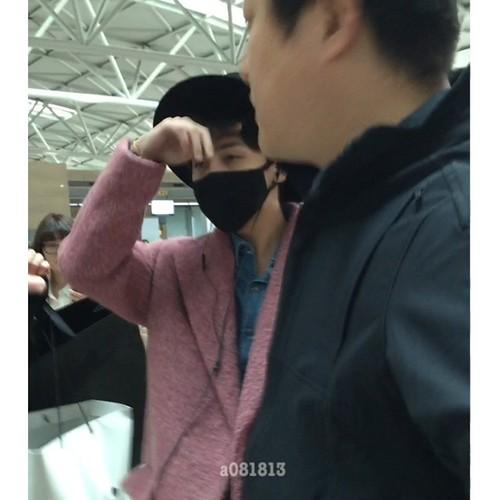 Big Bang - Incheon Airport - 21mar2015 - G-Dragon - a081813 - 03