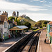 Corfe Castle railway station by Keith in Exeter