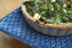 Feta, Edamame, Broccoli & Mint in a Spelt and…