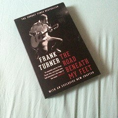 Look what arrived! I can't wait to start on this book. #bookaddict #frankturner #theroadbeneathmyfeet #bookstagram
