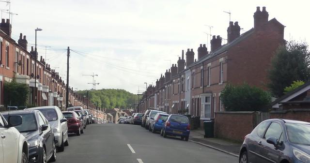 Newcombe Road Earlsdon Coventry, Panasonic DMC-TZ4