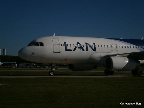 """Airbus 320 de Latam (Ex Lan) """"LV-BHU"""""""