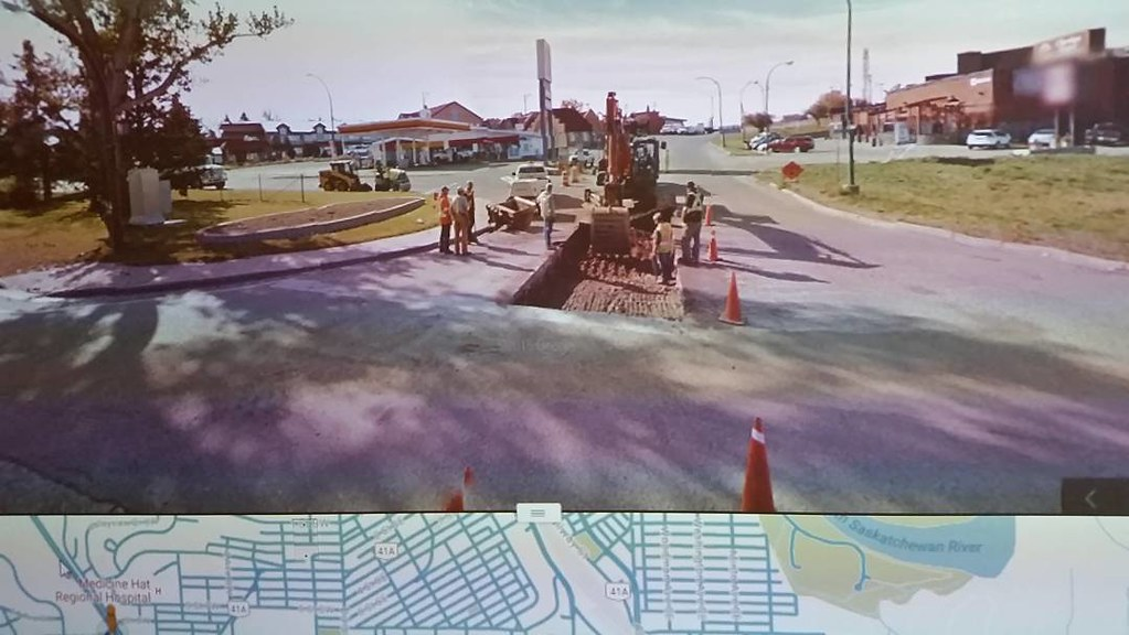 Big rectangle hole #ridingthroughwalls
