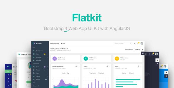 Flatkit v1.1.3 - App UI Kit