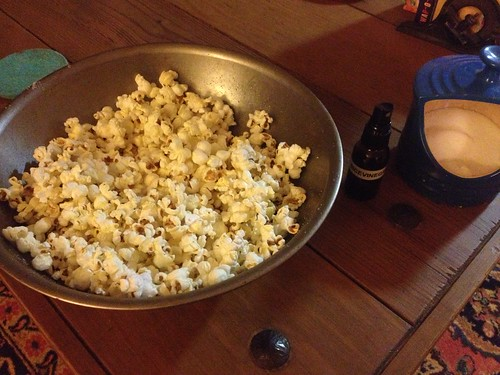 Salt & Vinegar Popcorn by mikey and wendy