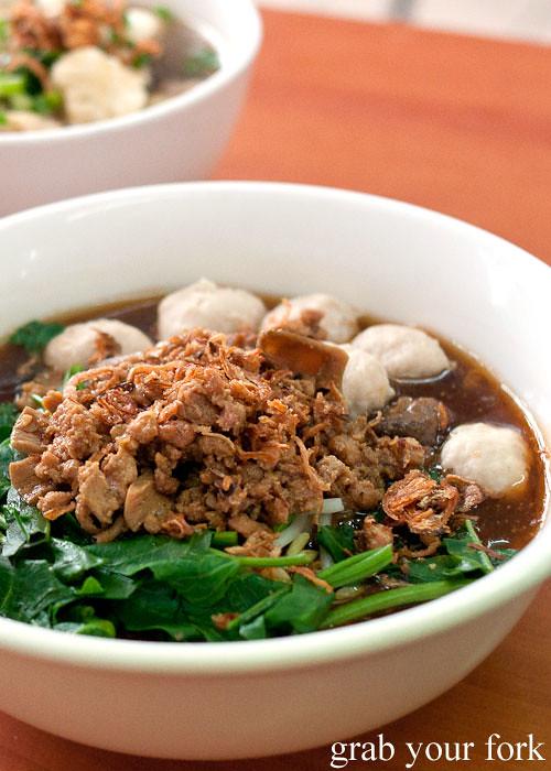lo mie bandung at mie kocok bandung indonesian noodle restaurant maroubra