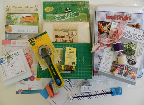 Sew South Swag Bag Contents Part 2