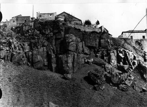 Roca Tarpeya. © Fondo Rodríguez. Archivo Histórico Provincial. JCCM. Signatura Album4-1544