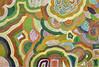 Euice Napanangka Jack, Tali (my country), 120x180  Acrylique sur lin