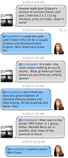 Krista Tippett's Twitter Chat about Jane Grigson