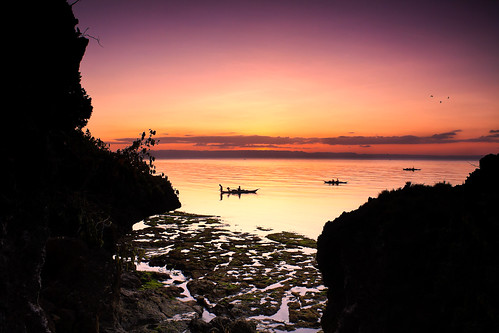 Sunset at Mangodlong, San Francisco, Camotes