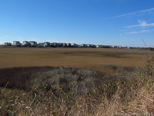 Marshland on Holden Beach, North Carolina