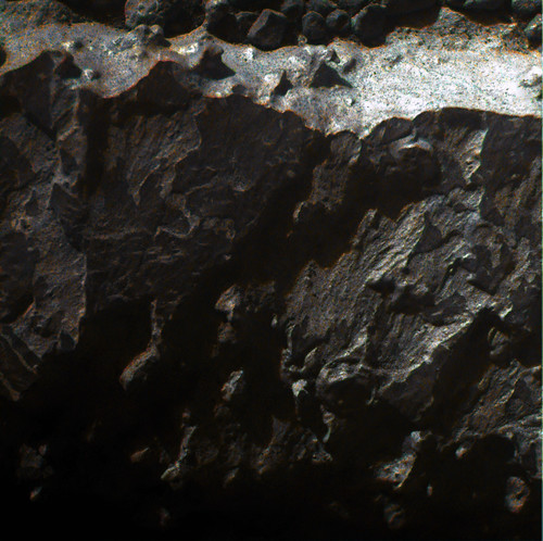 Opportunity sol 3267 Microscopic Imager detail