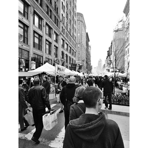Random street fair we walked through in NY on Sunday. #latergram #PicTapGo